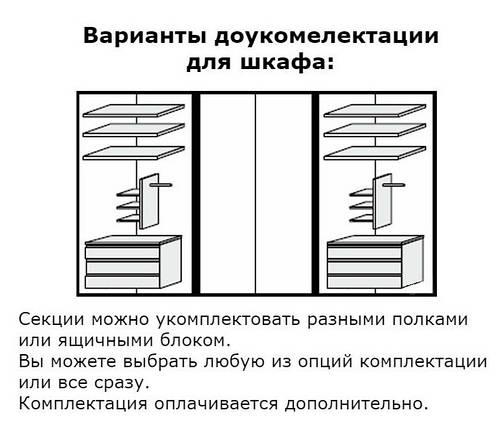 """Шкаф """"Луиза 6 дв"""" Белый глянец ТМ """"Миро марк"""", фото 2"""