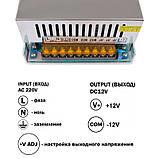 Блок питания OEM DC12 800W 66.7А TR-800, фото 3