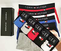 Фирменный Набор Мужских Трусов Tommy Hilfiger копия 5 шт + подарочная  упаковка d1d40471bf841
