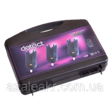 Набір електронних сигналізаторів покльовки Carp Pro Detect 9V 3+1