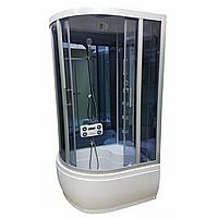 Гидромассажный бокс Atlantis 110х85 AKL 1110B R, тонированное стекло, фото 1