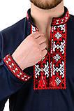 Трикотажный свитшот вышиванка красный, фото 5