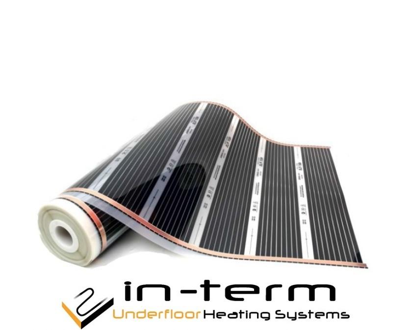 Инфракрасная нагревательная пленка In-Therm T-305 (50 см) 220 Вт/м2 (Ю.Корея)