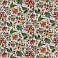 Ткань для штор, декоративных подушек хлопковая с узором крупные растения в зал, спальную 82141v4, фото 3