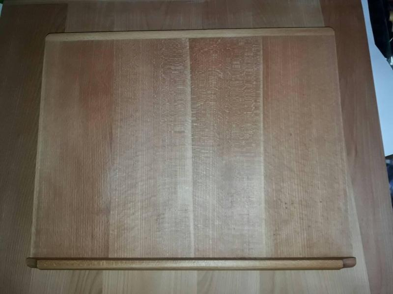 Доска для раскатки теста 42×54 см., буковое дерево.