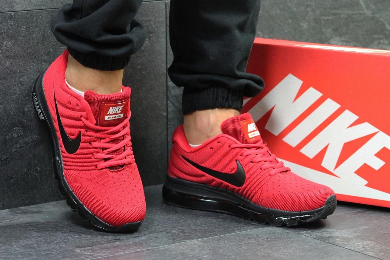 Мужские кроссовки Nike Air Max 2017 (Красные)