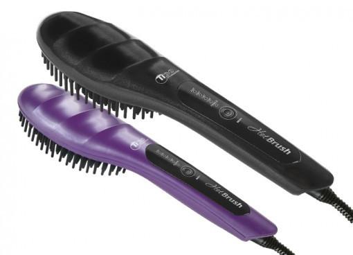 Терморасческа для выравнивания волос TICO Professional Hot Brush 100208