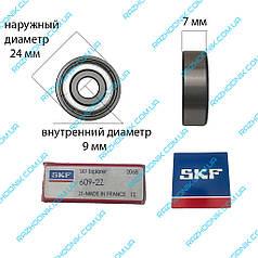 Підшипник SKF 609 ZZ (9*24*7)