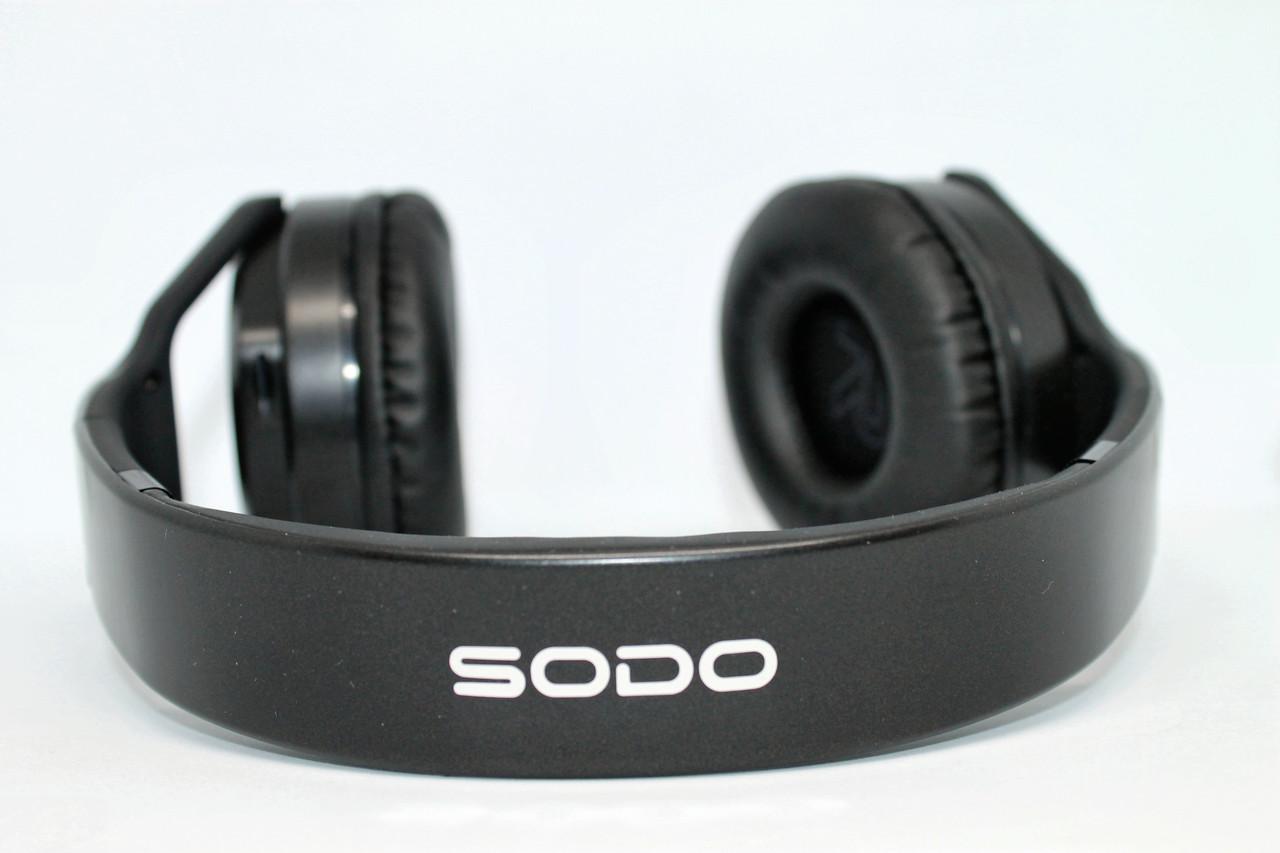 Оригинальные Беспроводные наушники Sodo MH3 2 в 1
