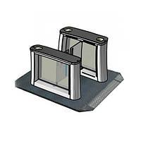Мобильная платформа для турникетов FREEWAY, шлифованная сталь AISI 304