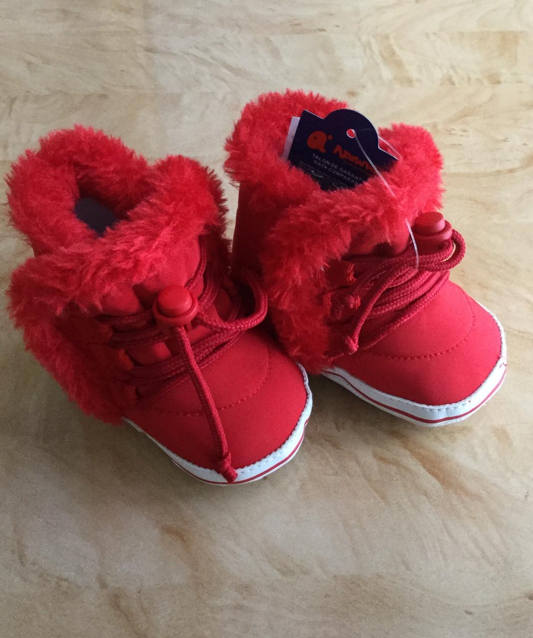 Пинетки-сапожки зимние для девочки
