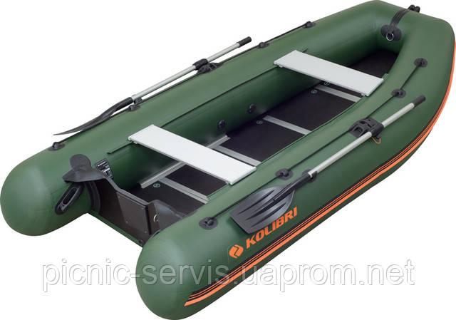 КМ-330 DSL моторная надувная лодка колибри Киев