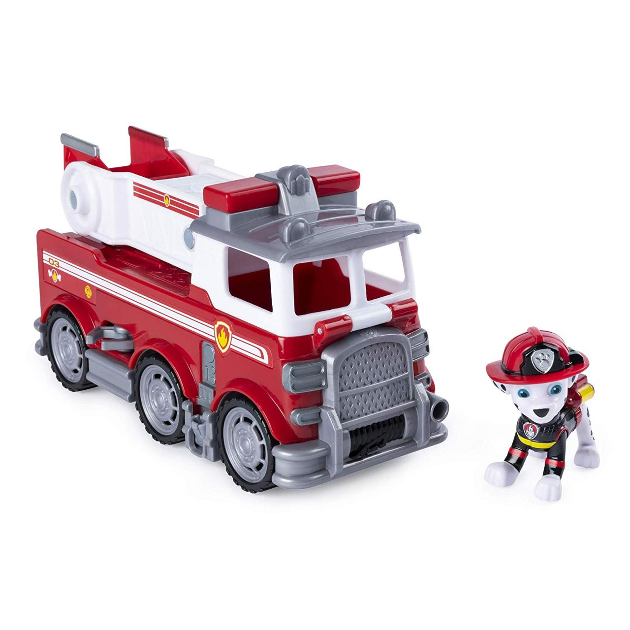 Paw Patrol. Marshall's Ultimate Rescue Fire Truck with Moving Ladder. (Маршалл с большой пожарной машинкой)