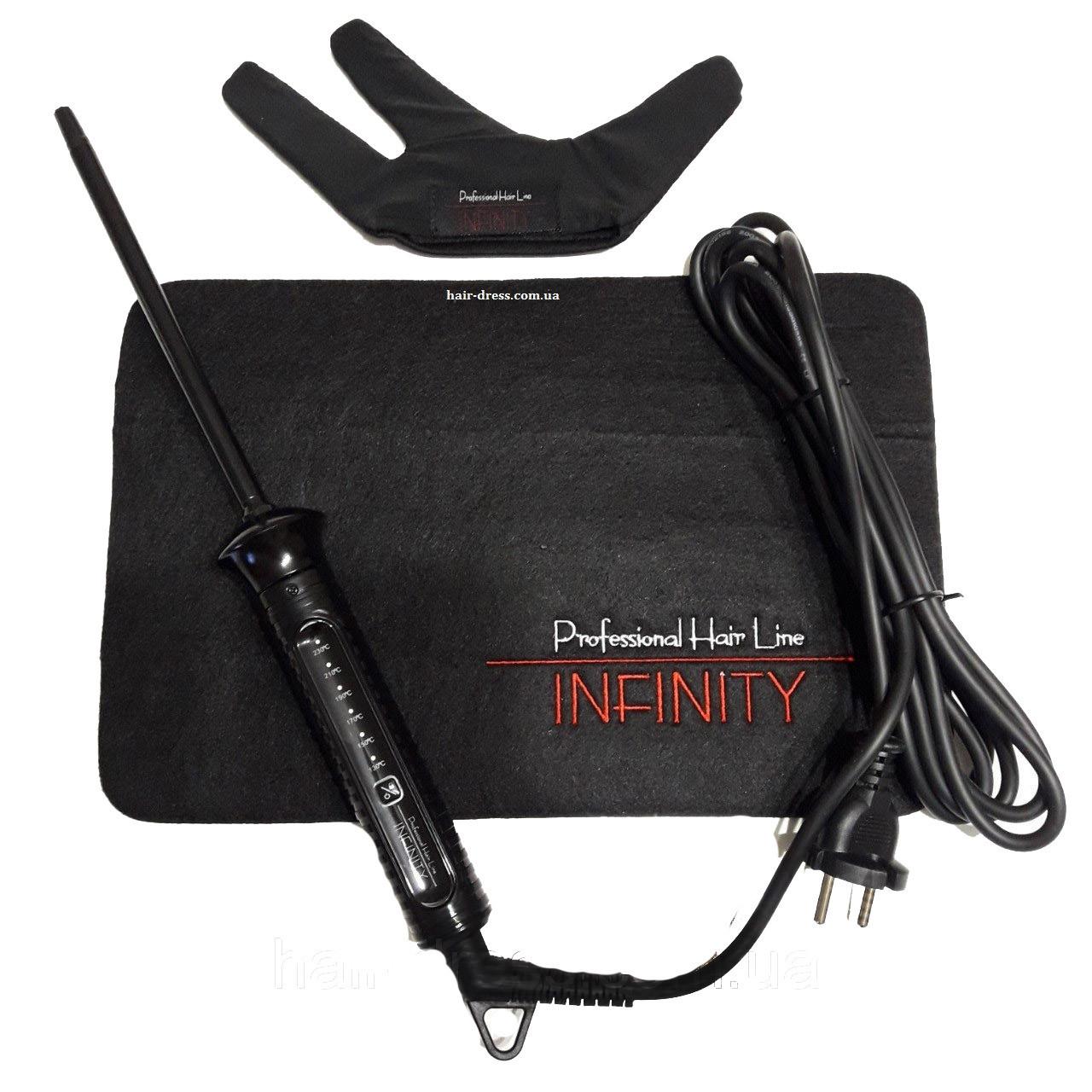 Плойка для кудрей Infinity Professional Narrow Curl IN6020, 9 мм