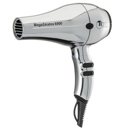 Професійний фен для волосся TICO Professional Mega Stratos 6900 Silver