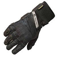 Мотоперчатки Trilobite 1840 Parado джинс - кожа женские черные, XS