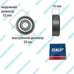 Підшипник SKF 6205-ZZ (25*52*15)