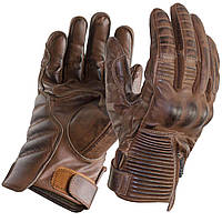 Мотоперчатки Trilobite 1942 Café кожа женские коричневые, S