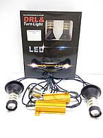 Автолампи LED DRL/turn, ДХО, Поворот 4014 CANBUS P21W 1156 PY21W BA15S