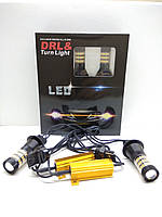 Автолампи LED DRL/turn, ДХО, Поворот 4014 CANBUS 7440, WY21W