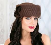 230-3 Женская фетровая шляпа Хелен Лайн