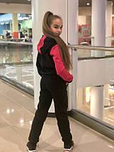 """Теплый детский спортивный костюм """"DUO"""" с карманами и капюшоном (2 цвета), фото 2"""