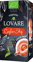 """Чай """"LOVARE ORGANIC"""" 24п*1,5г CeylonSky Чорний цейлон (1/18)"""
