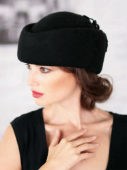 269-1 Женская фетровая шляпа Хелен Лайн