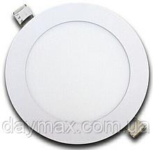 Точковий світильник світлодіодний круглий 3w,вбудована панель LED LIGHT