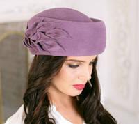 230-4 Женская фетровая шляпа Хелен Лайн
