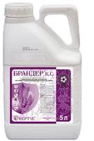 Двухкомпонентный системный фунгицид  Брандер, КС (5л) для защиты колосовых, сои и подсолнуха от болезней