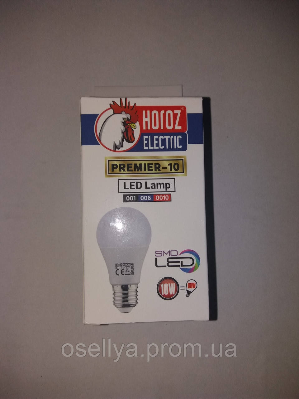 Лампа А60 LED 10W E27 4200K