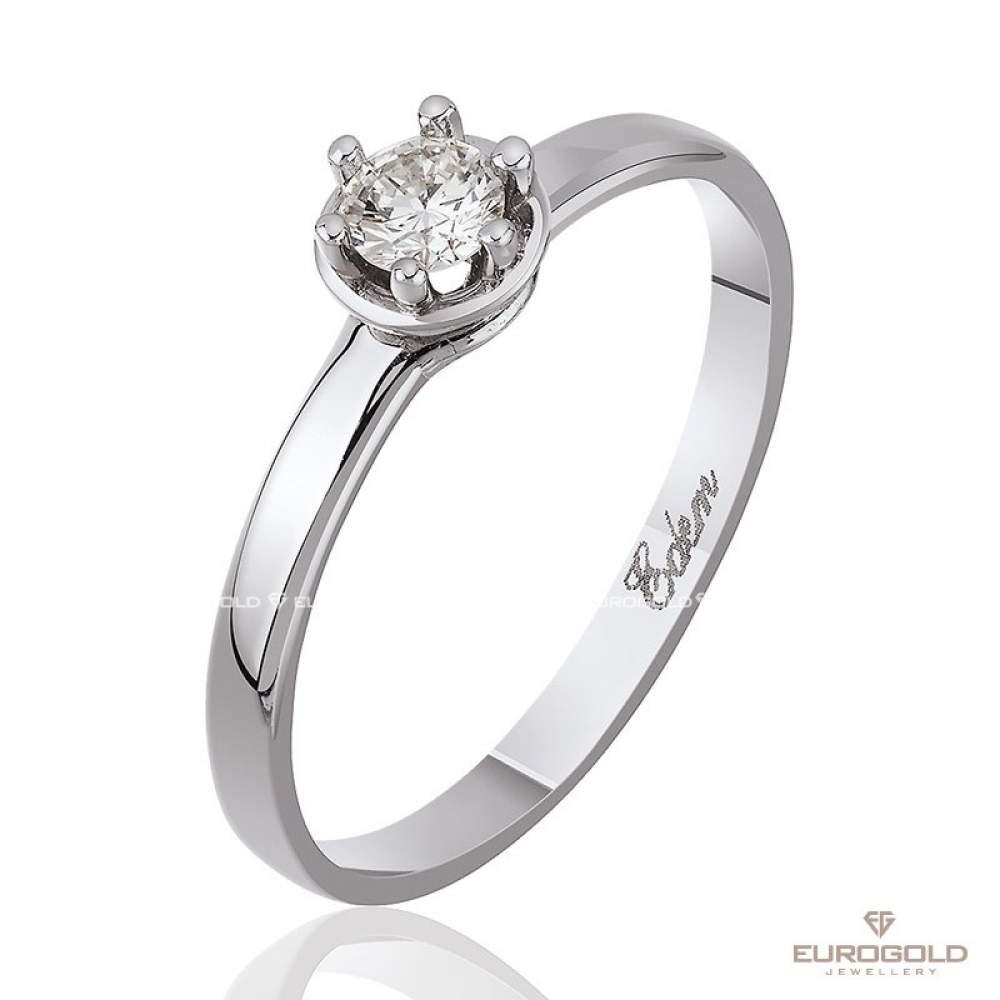 Кольцо КД7457/1А с камнем Бриллиант Eurogold