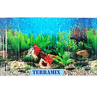 Фон №9019 для аквариума с высотой 30 см