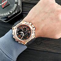 Мужские наручные часы  Casio G-Shock  GLG-1004 Бронза Копия, фото 2