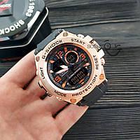 Мужские наручные часы  Casio G-Shock  GLG-1004 Бронза Копия, фото 3
