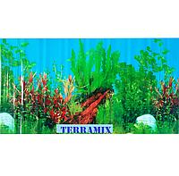 Фон №9021 для аквариума с высотой 30 см