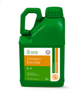 Контактно-кишковий інсектицид Нокаут Екстра (5л), для озимої пшениці та сої від шкідників посівів
