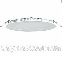 Стельовий світильник світлодіодний led ,точковий , круглий 6w,вбудована панель LED LIGHT