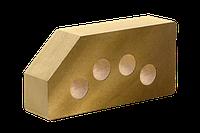 Кирпич облицовочный ЛИТОС Гладкий угловой пустотелый
