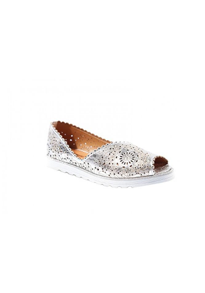 Женские открытые туфли  кожа
