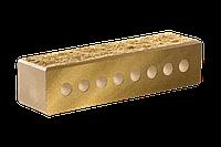Кирпич облицовочный ЛИТОС узкий колотый пустотелый с фаской