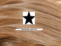 Набор натуральных волос на клипсах 38 см. Оттенок №14. Масса: 100 грамм.