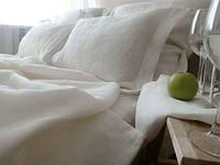 Льняное постельное белье, цветное , любые размеры от Полуторки до Евро (плюс свой размер), фото 1