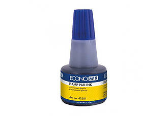 Штемпельная краска синяя Economix 30мл