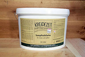 Натуральна вапняна фарба Kreidezeit Sumpfkalkfarbe 10 l