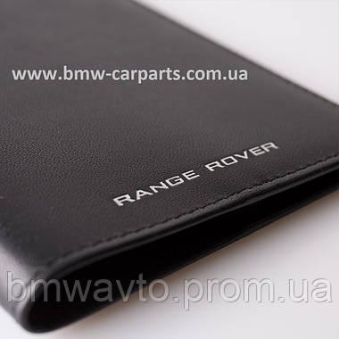 Шкіряна обкладинка для паспорта Range Rover Leather Passport Holder, фото 3
