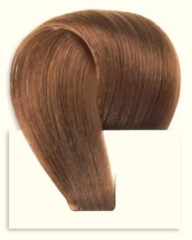 Набор натуральных волос на клипсах 40 см оттенок №7 120 грамм
