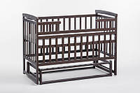 Кроватка-трансформер детская без ящика Орех, фото 1