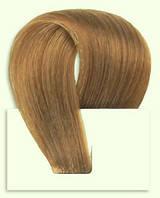 Набор натуральных волос на клипсах 38 см. Оттенок №10. Масса: 100 грамм., фото 1